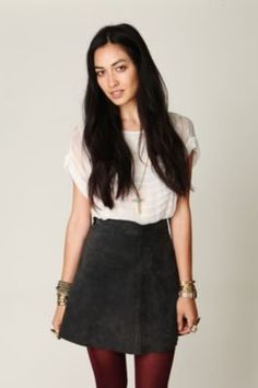 #Free People              #Skirt                    #Free #People #Suede #Circle #Skirt #Free #People #Clothing #Boutique         Free People Suede Circle Skirt at Free People Clothing Boutique                                         http://www.seapai.com/product.aspx?PID=1570234