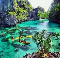 Big Lagoon, El Nido, Palawan, Philippines. Talk about my plans for travel my savings goals and about what I have planned to do in the Phillipines travel http://tipsrazzi.com/ppost/444800900678741185/