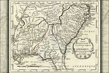 16x24 Poster; Map Of Georgia North South Carolina 1783