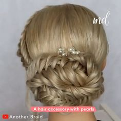 Hairdo For Long Hair, Easy Hairstyles For Long Hair, Bride Hairstyles, Hair Updo Easy, Simple Hair Updos, Updo Hairstyles Tutorials, Easy Updos For Long Hair, Braided Hairstyles Updo, Hairstyle Men