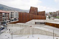 OKE (Culture House) in Ortuella, Spain / by aq4 arquitectura / photo by Adrià Goula Sardà
