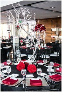 12 Striking Red Wedding Reception Ideas Love The Tree