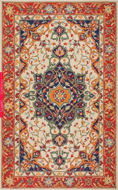 Rustic and fine! This is Rugs USA& Aragon Flourishing Forest in Desert Rug! Rustic and fine! This is Rugs USA's Aragon Flourishing Forest in Desert Rug! Beige Carpet, Modern Carpet, Carpet Tiles, Rugs On Carpet, Plush Carpet, Textiles, Rugs Usa, Floral Rug, Carpet Colors