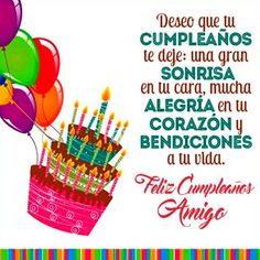 Happy Birthday Kind, Happy Birthday Photos, Birthday Images, Birthday Quotes, Good Day Messages, Inspirational Good Morning Messages, Birthday Wishes Messages, Birthday Greetings, Spanish Birthday Cards