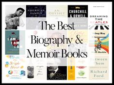 """""""What are the best Biography & Memoir books of We aggregated 14 year-end lists and ranked the 171 unique titles to answer that very question! Biography To Read, Best Non Fiction Books, Good Books, Books To Read, Best Biographies, Memoir Writing, Book Lists, Reading Lists, Books 2016"""