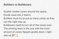 Builders vs Bulldozers