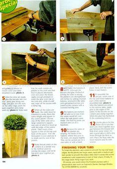 Planter Box Plans - Outdoor Plans