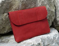 Surface Pro 3 (Organic) Leather Bag PEPPER - pinned by pin4etsy.com