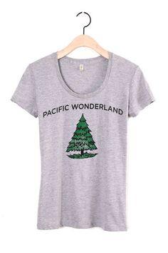 Pacific Wonderland Grey Scoop