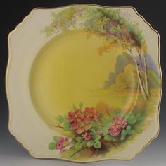 ROYAL WINTON GRIMWADES PLATE, CLOVELL 1930- I would just love to own this plate and use it everyday for myself!