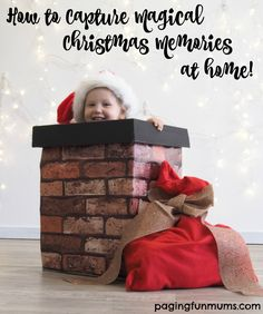 How to capture magical Christmas photos at home.