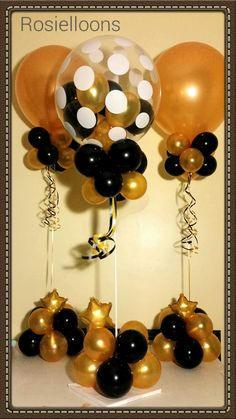 Birthday Balloon Decorations, Balloon Centerpieces, Graduation Decorations, Birthday Balloons, Red Carpet Theme, Red Carpet Party, 21st Birthday, Birthday Celebration, Birthday Parties