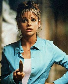 Today marks 20 years since a 16-year-old formative feminist icon was launched onto our screens: Buffy the Vampire Slayer. With the show's delight in Buffy Summers' teen-girlness and inherent distrust of patriarchal power there is much we can learn from this stake-wielding heroine. Head to anothermag.com for Buffy's lessons in style and sass   via ANOTHER MAGAZINE MAGAZINE OFFICIAL INSTAGRAM - Celebrity  Fashion  Haute Couture  Advertising  Culture  Beauty  Editorial Photography  Magazine…