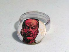 """Comic Book 1.5"""" Button// Sinestro, $1.00"""