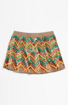 Peek Sequin Skirt (Toddler, Little Girls & Big Girls)   Nordstrom