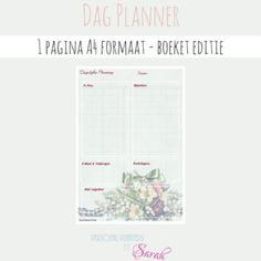 Dag Planner - Boeket Editie 1