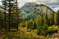 Mount Rundle Canada [1600x1068] by Jeff Clow via /r/EarthPorn http://ift.tt/1J2zsHK
