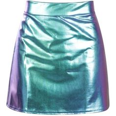 Petite Ellie Mermaid Foil Mini Skirt (59 BRL) ❤ liked on Polyvore featuring skirts, mini skirts, bottoms, petite skirts, blue skirt, short skirts and blue mini skirt