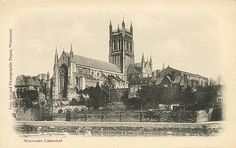 Worcester Cathedral. #postcards
