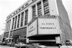 United Artists opened at Bagley and Grand Circus Park in 1928. It closed in the 1970s and has been vacant since. Its interior is a favorite of ruin-porn photographers. (Photo from WSU's Virtual Motor City)