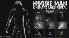 Hoodie Man - Cinematic Logo Reveal 3 in 1 is powerful, dinamic, epic and dramatic opener. Inspired by I Know What You Did Last Summer, Scream. This project perfect for Movie openers, Game intros, Blockbuster Trailers, Teasers, Short films, Promos, Game Fan clubs, Home videos, Marketing campaigns, Event promotion, Presentation for a project website or business, Special events, Treasure advertising, Commercial projects, Sell your idea, Promo sales and so on…