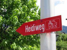 Auf den Spuren von Heidi entlang des Heidiweg in Maienfeld
