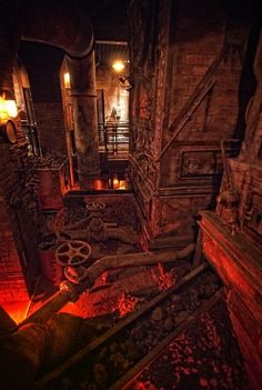 World of Darkness: Denver :: Games :: Vampire: The Masquerade :: Setting :: Locations :: Temple Outdoor Halloween, Halloween 2018, Scary Halloween, Halloween Crafts, Halloween Ideas, Haunted Trail Ideas, Haunted Hayride, Haunted House Props, Halloween Yard Decorations