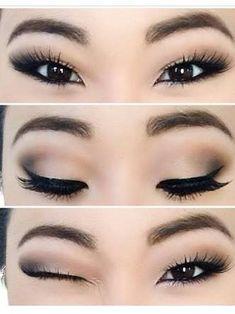 Resultado de imagem para asian eyes makeup
