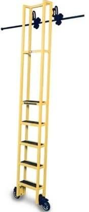 rolling bookshelf ladder - Google Search
