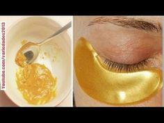 «Máscara de oro» para la piel alrededor de los ojos! 10 años menos en solo 5 minutos. - YouTube