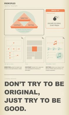 Great advice - especially when first delving into design of any kind.