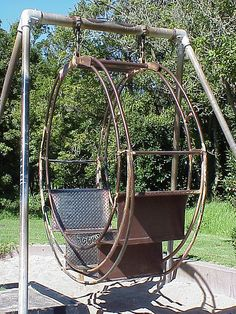 old 2 person swing by Jef Poskanzer, via Flickr