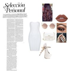 """Window"" by baelifefoever ❤ liked on Polyvore featuring Posh Girl, ZiGiny, MANGO, Lime Crime, clear and Seethru"