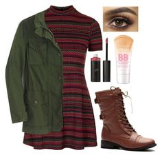 """""""Freaks and Geeks Today"""" by odd-giraffe ❤ liked on Polyvore featuring Topshop, J.Crew, Vincent Longo and Maybelline"""