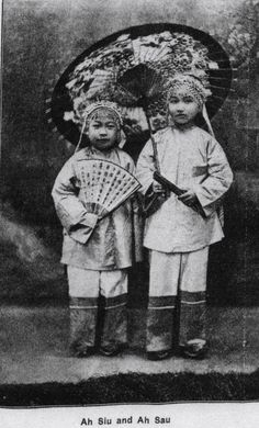 """This photograph of Siu Wong and Josephine Chan (right) accompanied an article entitled """"History of Two Little Chinese Girls"""" (Western Christian Advocate, July 6, 1904. p. 16)."""
