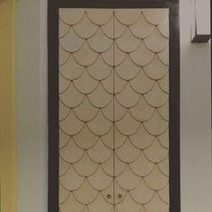 A&T house, wooden door, mermaid door, shoe closet, entrance closet