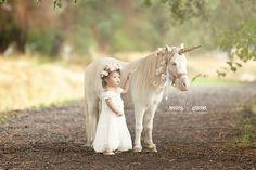 Loni Smith Photography Utah child photographer whimsical magical unicorn