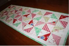Quilt Fabric Delights Creative - Tutorials - Celebration Table Runner by RachelMeasham-Pywell