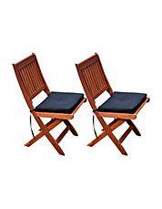Miramar Outdoor Folding Chair Set