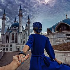 #followmeto the Kul Sharif Mosque in Kazan, Russia with @NatalyOsmann. What Ramadan means to you? Captured on S7 Edge.…
