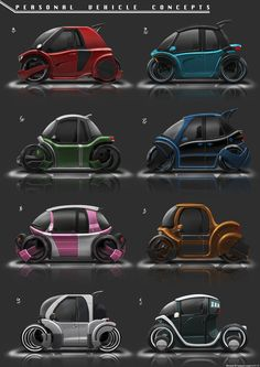 ArtStation - Personal Vehicles Concepts, Benjamin Tan