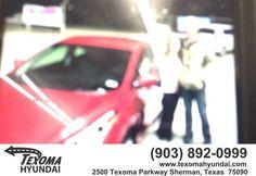 https://flic.kr/p/EyN3yA | Happy Anniversary to Matraca on your #Hyundai #Elantra from Randy Hollingsworth at Texoma Hyundai! | deliverymaxx.com/DealerReviews.aspx?DealerCode=L967