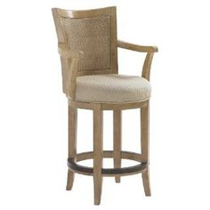 Check out the Lexington Furniture 830-815-01 Monterey Sands Carmel Swivel Counter Stool priced at $729.00 at Homeclick.com.