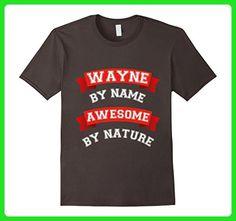 Mens Awesome Wayne Gift T-Shirt / Wayne Birthday TShirt 3XL Asphalt - Birthday shirts (*Amazon Partner-Link)