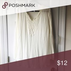 White shirt Long. Maternity. I wore with leggings. From target. Tops Blouses