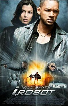 Official theatrical movie poster ( of for I, Robot Directed by Alex Proyas. Starring Will Smith, Bridget Moynahan, Alan Tudyk, James Cromwell All Movies, Sci Fi Movies, Hindi Movies, Great Movies, Movies Online, Action Movies, Movies Showing, Movies And Tv Shows, Film Science Fiction