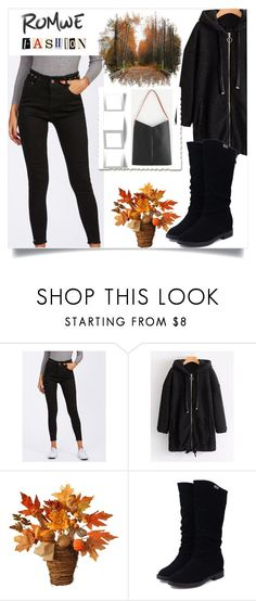 """ROMWE  - 7"" by thefashion007 ❤ liked on Polyvore featuring National Tree Company"