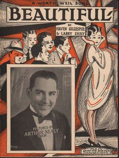 1927 Haven Gillespie & Larry Shay Sheet Music (Beautiful)
