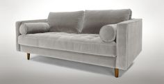 "Sven Intuition Grey 72"" Sofa - Sofas - Article 