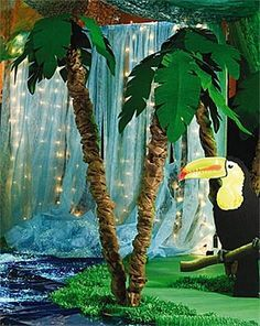 Tropical+Prom+Themes | tropical themed float is great for summer parades or an early fall ...